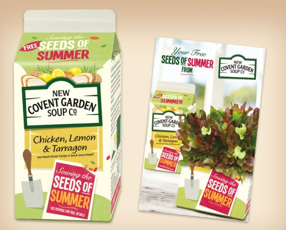 New Covent Garden Soup Company Promotion