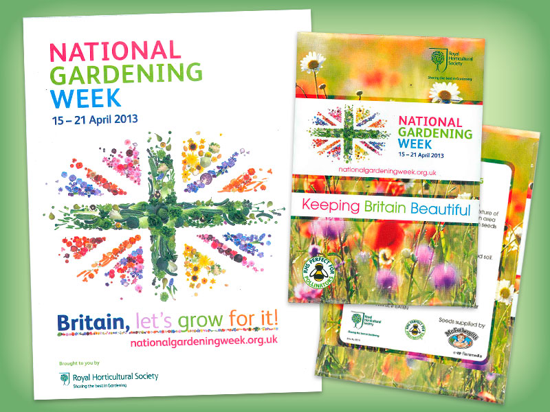 RHS National Garden Week Promotion