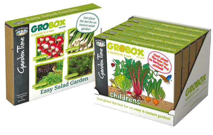 GroBox - A garden in a box from Mr Fothergill's Garden Time range