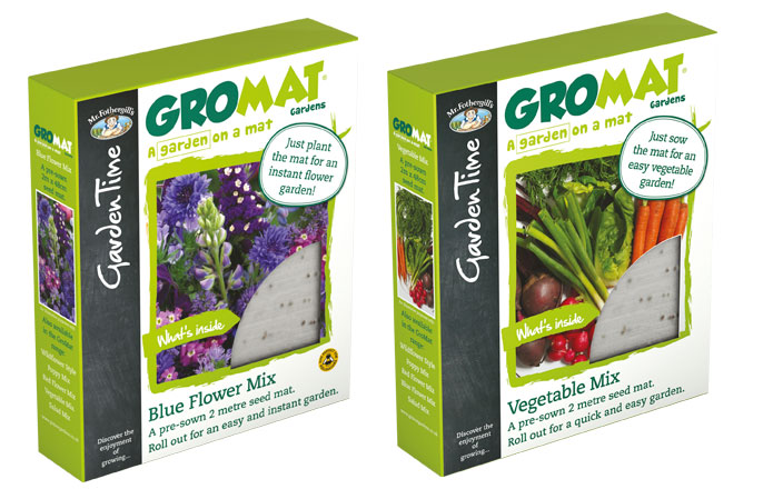 GrowMat - A garden on a mat! Various Flower and Vegetable mats available in Mr Fothergill's Garden Time range