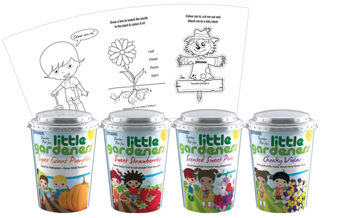 Little Gardeners Starter Pots by Johnsons