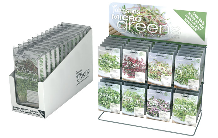 Microgreens Growing Kits by Johnsons